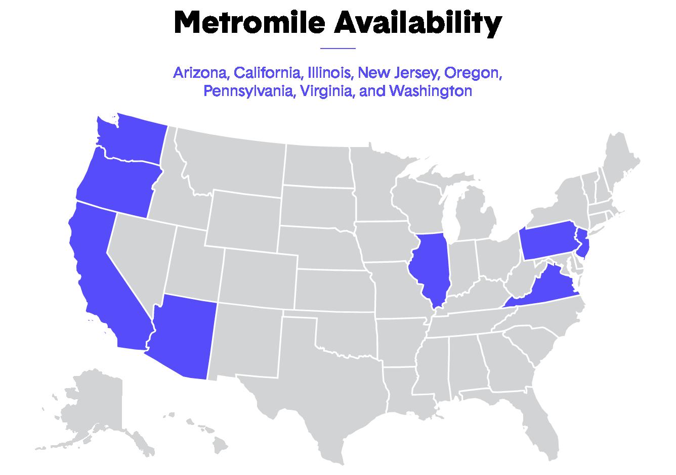 Metromile Map