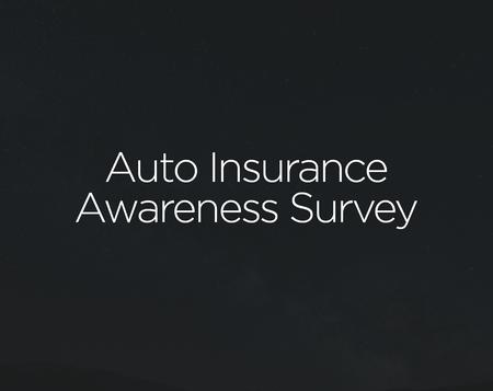 The Zebra Auto Insurance Awareness Survey