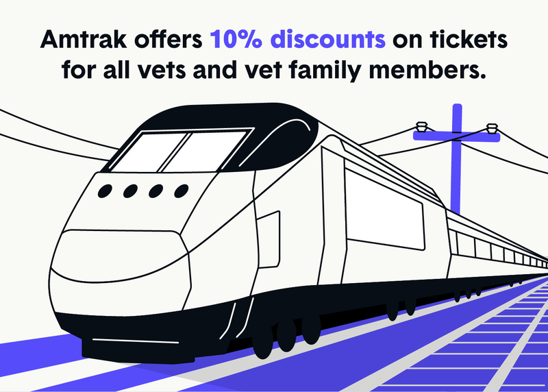 amtrak veteran discounts
