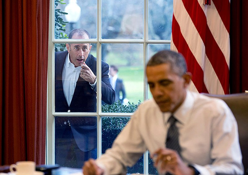 comedians in cars getting coffee - obama and seinfeld
