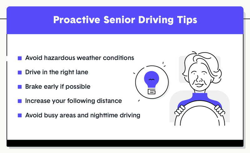 proactive senior driving tips