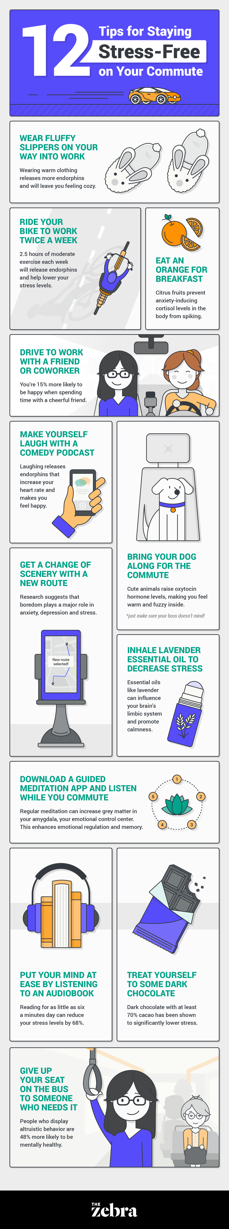 stress-free commute tips
